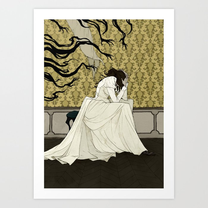 The Yellow Wallpaper Art Print