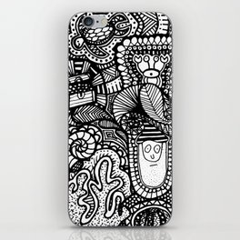 Under the Sea Doodle iPhone Skin