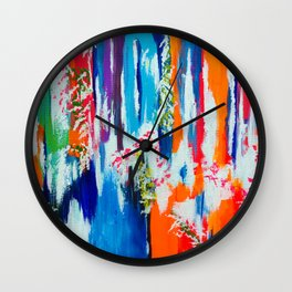 In Retrospection Wall Clock