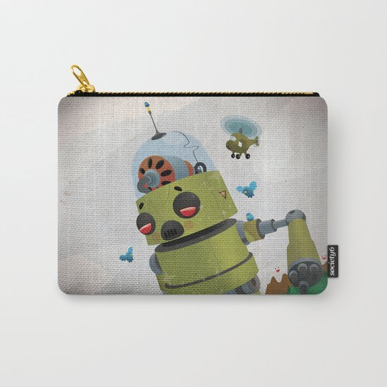 Monster robot toy Carry-All Pouch