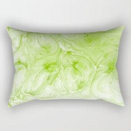 Lime Juice #abstract #texture #minimal Rectangular Pillow