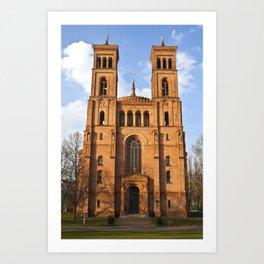 Sant Thomas Church in Berlin Art Print