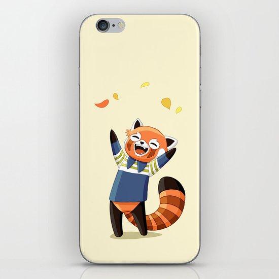 Red Panda 2 iPhone Skin