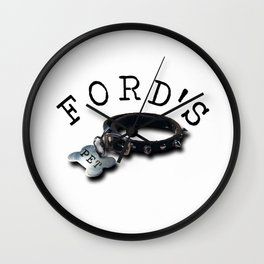 FORD'S PET Wall Clock