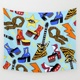 Glam Rock Starter Pack Print Wall Tapestry