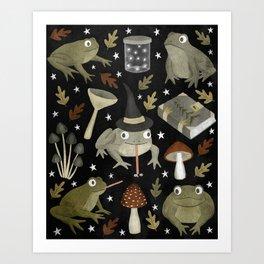 toad spells Kunstdrucke