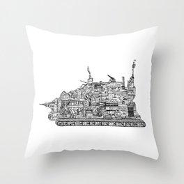 War Behemoth Throw Pillow