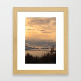 Winter Fog - II Framed Art Print