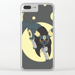 Dark Steampunk Fox Clear iPhone Case