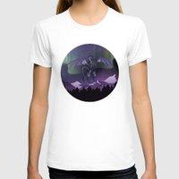 aurora T-shirts featuring Aurora by Melissa Dekker