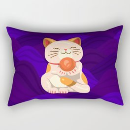 """FortuNEKO - """"Pandora"""" Rectangular Pillow"""