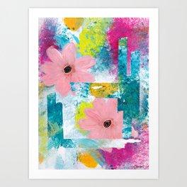 FENCE LINES Art Print