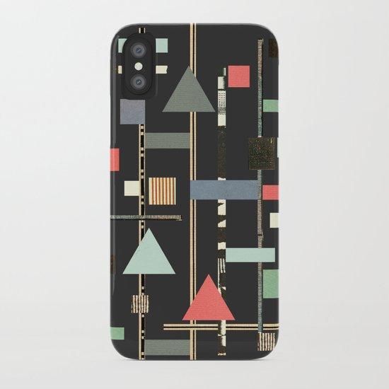 Abstract Aztec No. 1 iPhone Case