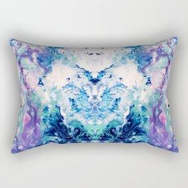 Okul - Abstract Costellation Painting Rectangular Pillow