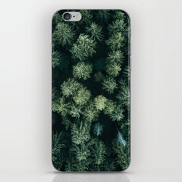 Forest from above - Landscape Photography iPhone Skin