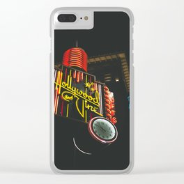 Hollywood & Vine Clear iPhone Case