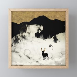 Winter Silence Framed Mini Art Print