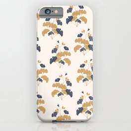 Gold Flower 1 iPhone Case