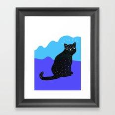 Cats Life 2 Framed Art Print