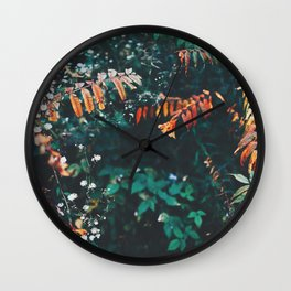 Pops of Colour Wall Clock