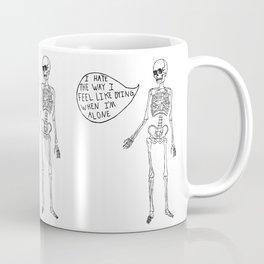 Joyce Manor Skeleton Coffee Mug