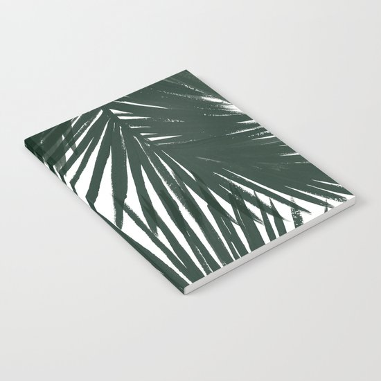 Palms Green Notebook