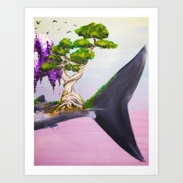 Aspidochelone Part III Art Print
