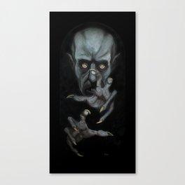Phantom der Nacht Canvas Print