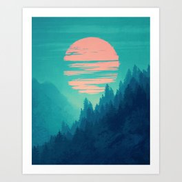 Transfiguration Art Print