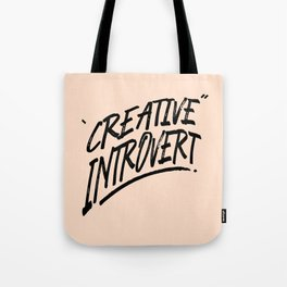 The Creative Introvert Tote Bag