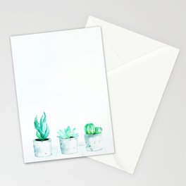 Hipster's dream garden Stationery Cards
