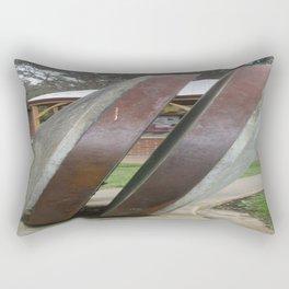 Chilean Mill Wheels Rectangular Pillow