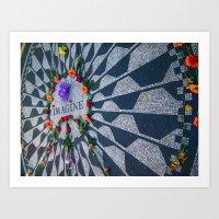 Imagine in Strawberry Fields Art Print