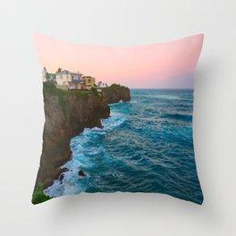 North Coast  Throw Pillow