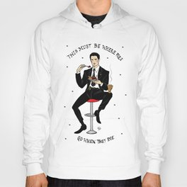 Special Agent Dale Cooper ~ RR Diner Hoody