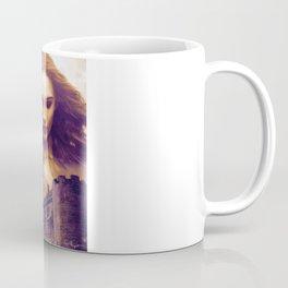 The Watcher (Painting) Coffee Mug