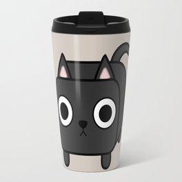 Cat Loaf - Black Kitty Travel Mug