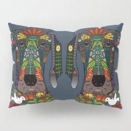 Great Dane love midnight Pillow Sham
