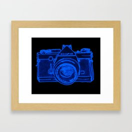 Yellow Camera Framed Art Print