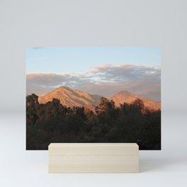 Near Sunset Mini Art Print