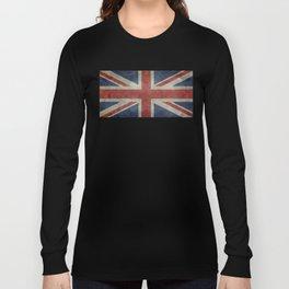 Union Jack (1:2 Version) Long Sleeve T-shirt