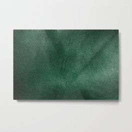 Leather*Trompe l'oeil Metal Print