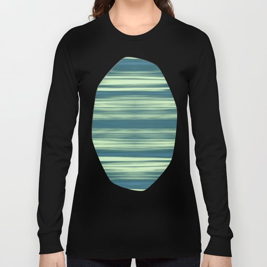 Abstraction Serenity in Afternoon at Sea Long Sleeve T-shirt