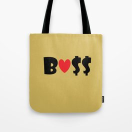 Boss (gold) Tote Bag