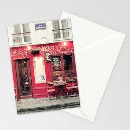Chez Marie, Paris Stationery Cards