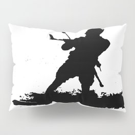 Board Out Of Your Mind Wakeboarding Silhouette Pillow Sham