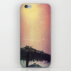 Burnt Beach iPhone & iPod Skin