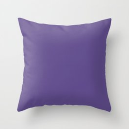 PANTONE 18-3838 Ultra Violet Throw Pillow