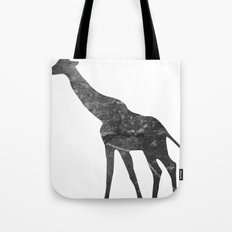 Giraffe (The Living Things Series) Tote Bag