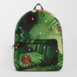 Landscape plants & circles Backpack